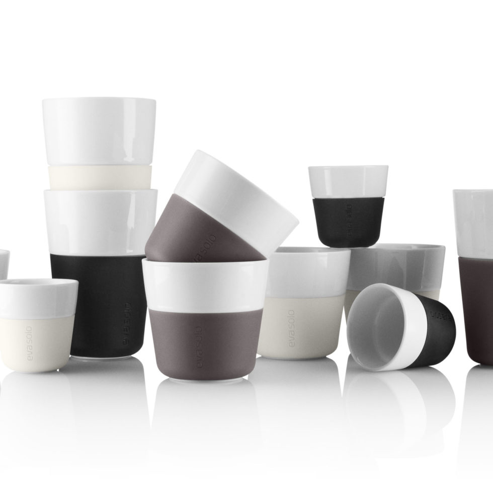 Mug café latte set de 2, 360 ml